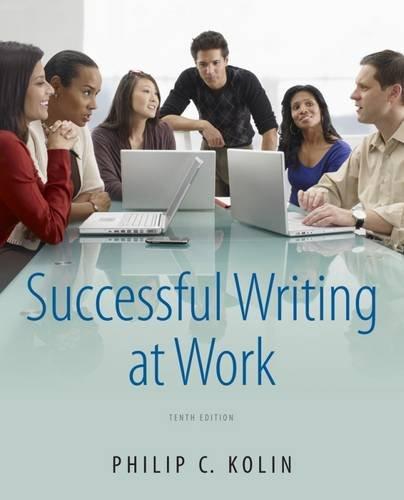 Successful Writing At Work Epub