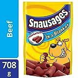 Snausages In a Blanket Beef Dog Snacks, 708 Grams