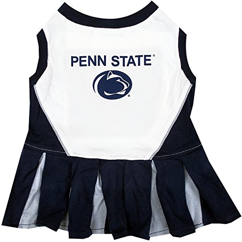 NCAA Penn State Nittany Lions Dog Cheerleader Outfit, Small]()