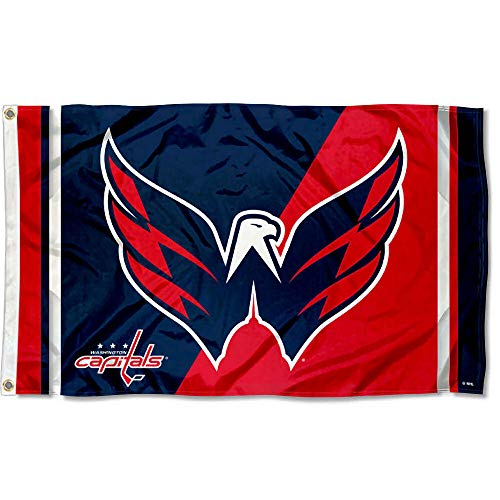 (WinCraft Washington Capitals Eagle Flag 3x5 Banner)