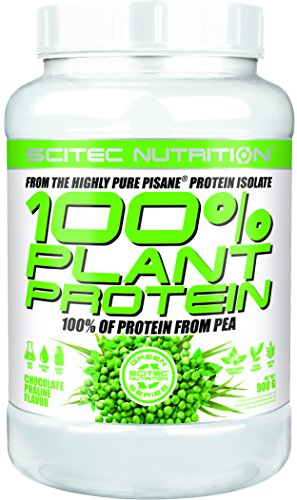 - Scitec Nutrition 100% Plant Protein - 1.98 Pound, Chocolate Praline (Vegan, Vegetarian)