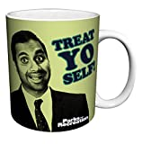 Parks and Recreation Tom Haverford Treat Yo Self Workplace Comedy TV Television Show Ceramic Gift Co