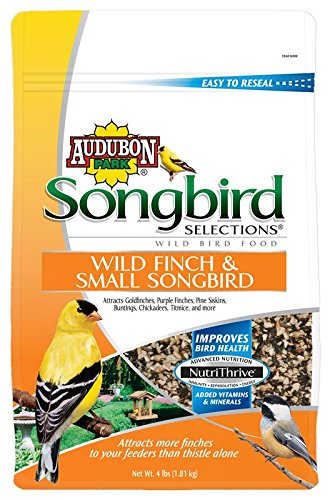 Scotts Songbird 1022684 Wild Bird Finch And Small Songbird Blend, 4 Pound (Pack Of 6)
