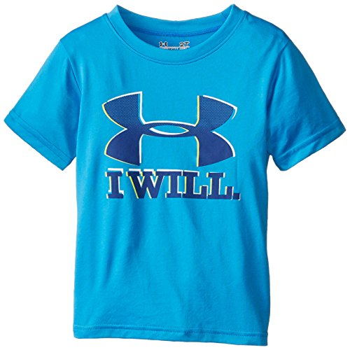 Under Armour Little Boys' I Will Tee, Pool, 3T