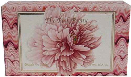 Saponificio Artigianale Fiorentino Pink Peony Single 10.5 Oz. Soap Bar From Italy