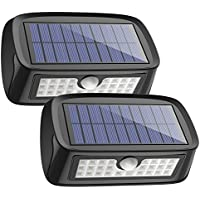 Solar Lights Waterproof 26 LED Wall Light Outdoor...
