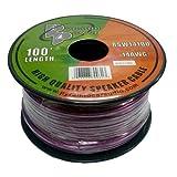 Pyramid RSW14100 14 Gauge 100 Feet Spool of High Quality Speaker Zip Wire