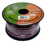 Pyramid RSW14100 14 Gauge 100 Feet Spool of Speaker Zip Wire