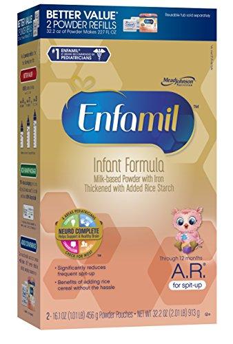 Enfamil  A.R. Baby Formula - 32.2 oz Powder Refill Box