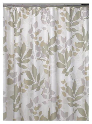 - Creative Bath Shadow Leaves Shower Curtain