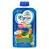 go foods - Go & Grow by Similac Fruit and Veggie Pouches with OptiGRO,  Butternut Squash, Pumpkin, Banana, Carrot, Spinach, Broccoli Puree, For Toddlers, Organic Baby Food, 4 ounces, Pack of 12