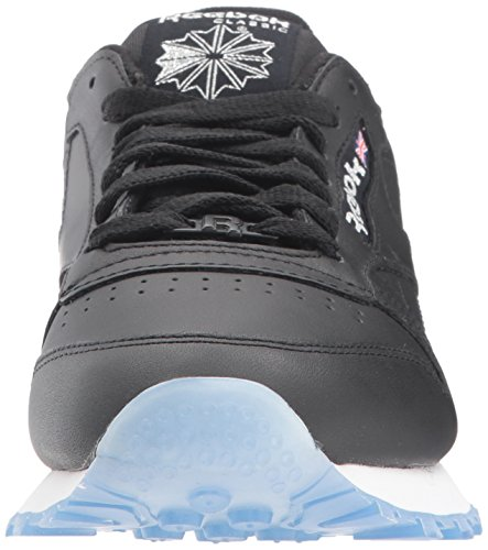 Reebok Men's Classic Leather Ice Sneaker Black/White/Silver/Ice cheap sale authentic sale ebay explore cheap online free shipping excellent Cheapest TD3OOe1