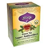Cheap Yogi Tea Green Tea Super Antioxidant, Herbal Supplement, Tea Bags, 16 ct, 2 pk