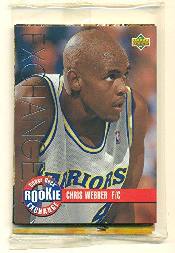 1993-94 Upper Deck Rookie Exchange Set with Chris Webber, Hardaway, Mashburn + - Basketball Cards -