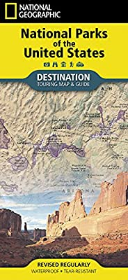 National Parks of the United States (National Geographic Destination Map)