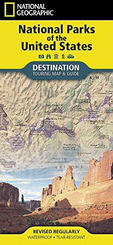 National Parks of the United States (National Geographic Destination Map) ()