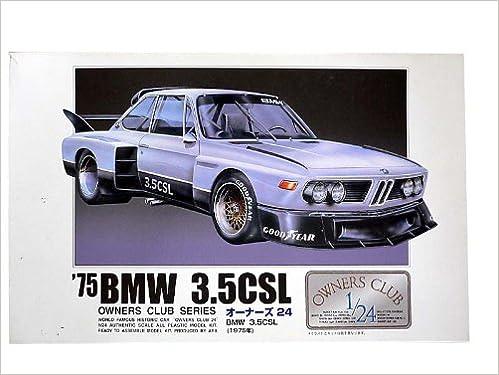 1 24 75 Bmw 3 5csl Model Car Micro Ace Arii Owners Club 24 No 08