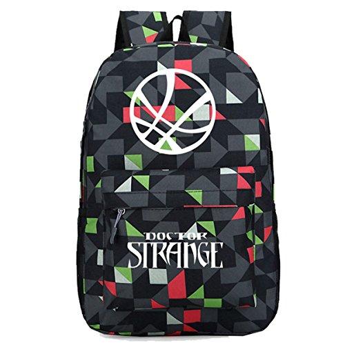 Amazon.com   YOURNELO Girl s Boy s Marvel Comics Doctor Strange Rucksack  School Backpack Bookbag (Black)   Kids  Backpacks 38b9b5d862