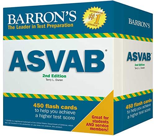 Pdf Test Preparation Barron's ASVAB Flash Cards