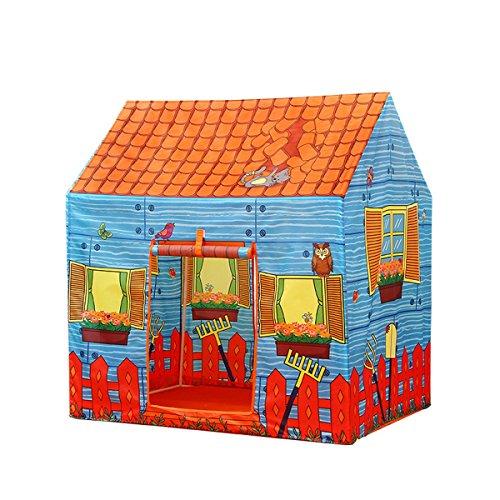 ひどく供給操縦するLIAN 子供遊びテントインドア大規模な家Foldableオーシャンボールプールプレイハウス(102 * 95 * 72cm 1のパッキング) (色 : ピンク ぴんく)