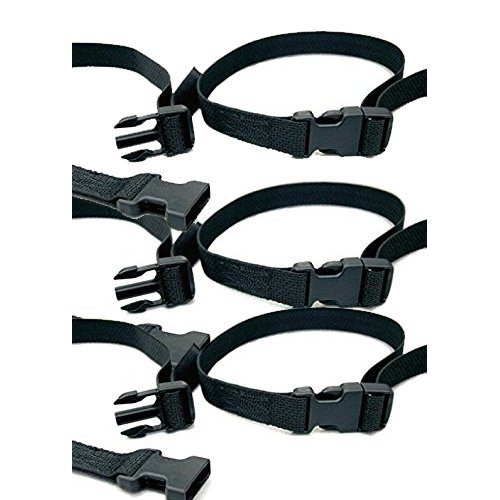 Toddler Table Replacement Seat Belt, Set of 3, Black - Infant Feeding Table