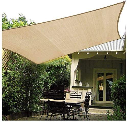 SUNDUXY Toldo Vela de Sombra Rectangular Impermeable rectángulo Metros protección UV Metros protección Rayos UV, Resistente y Transpirable,3x5m: Amazon.es: Hogar