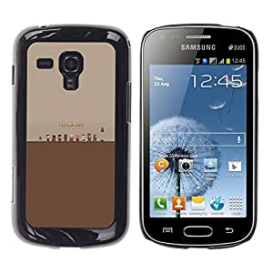 MOBMART Slim Sleek Hard Back Case Cover Armor Shell FOR Samsung Galaxy S Duos S7562 - Tf Fortress 2 Game