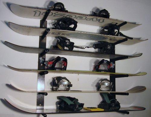 T-Rax Snowboard Wall Rack by T-Rax