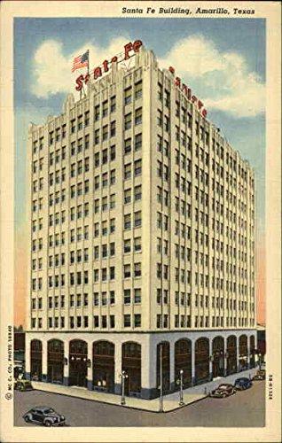 Santa Fe Building Amarillo, Texas Original Vintage Postcard ()