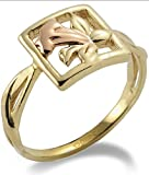 Clogau Gold 9ct Yellow and Rose Gold St Davids Daffodil Ring