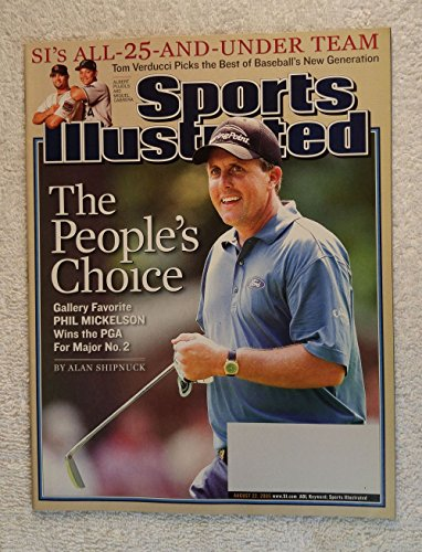 The People's Choice - Gallery Favorite Phil Mickelson Wins the 2005 PGA Championship for Major No. 2 - Sports Illustrated - August 22, 2005 - Golf - Baltusrol Golf Club, Springfield, NJ - SI