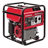 Honda Power Equipment EB3000CK2A 3,000W Industrial Portable Generator CARB, Steel