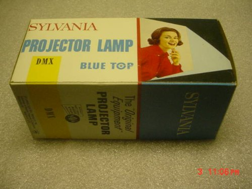 Overhead Projector Lamp Halogen (Sylvania DMX Lamp Bulb For Projection Equipment 500 Watts 120 Volt 50 Hours. Large 6 Inch. by Projector Lamp for 8 MM or !6 MM Projectors or other vintage photo equipment.)