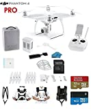 #6: DJI Phantom 4 PRO Quadcopter Drone with 1-inch 20MP 4K Camera KIT + SanDisk Extreme 32GB Micro SDXC Card + Universal Card Reader 3.0 + Snap on Prop Guards + Carry Strap System + Koozam Cleaning Cloth