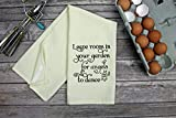 Leave Room In Your Garden For Angels To Dance Kitchen Dish Towel