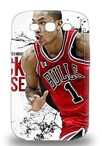 Cute Appearance Cover Tpu NBA Chicago Bulls Derrick Rose #1 3D PC Case For Galaxy S3 ( Custom Picture iPhone 6, iPhone 6 PLUS, iPhone 5, iPhone 5S, iPhone 5C, iPhone 4, iPhone 4S,Galaxy S6,Galaxy S5,Galaxy S4,Galaxy S3,Note 3,iPad Mini-Mini 2,iPad Air )
