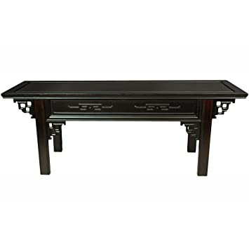 oriental furniture japanese altar bench amazoncom oriental furniture rosewood korean tea table