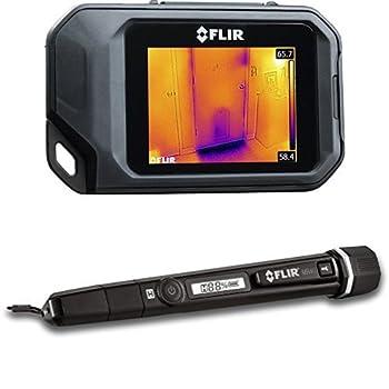 FLIR C2 Thermal Imaging Camera and FLIR MR40 Moisture Pen