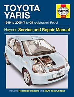 Toyota yaris petrol service and repair manual 1999 to 2005 r m toyota yaris fandeluxe Image collections