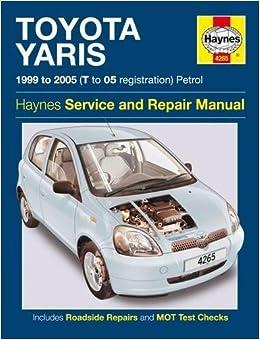 toyota yaris amazon co uk haynes publishing 9781785213243 books