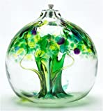 Kitras 3-Inch Oil Lamp Tree of Enchantment, Spring
