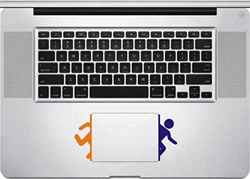 Game MacBook Trackpad-Laptop or Car-Window Sticker. (Portal Computer Decal)