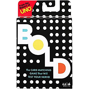 Mattel Games UNO BOLD Card Game
