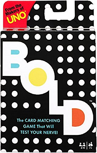 Mattel Games UNO BOLD Card ()