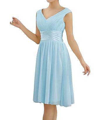 Simple Homecoming Dress Short Chiffon Semi Formal Prom Dresses For