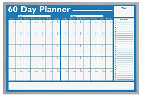 Visual Planning Board Magna - Magna Visual Dry Erase Planning Board, 60 Day, 36