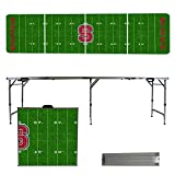 NCAA North Carolina State Wolfpack NC State Football Field Version 8' Folding Tailgate Table