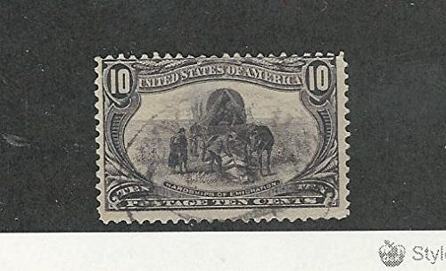 United States, Postage Stamp, 290 Used, 1898