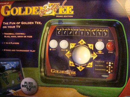 Golden Tee Golf Video Game Easy To Play On Your Television!! Up To 4 Players..
