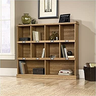 Sauder Barrister Lane Bookcase, Scribed Oak Finish